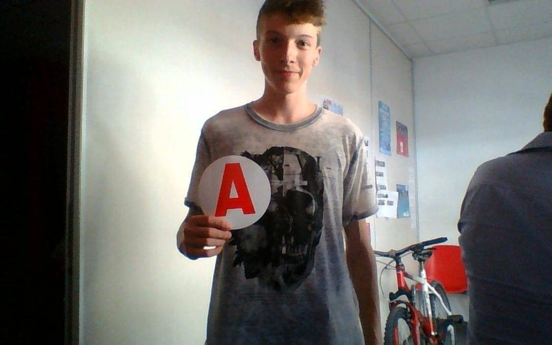 Félicitations à Alex pour son Permis !!!