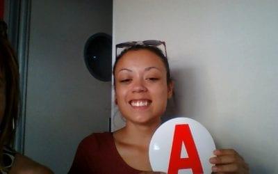 Félicitations à Amandine
